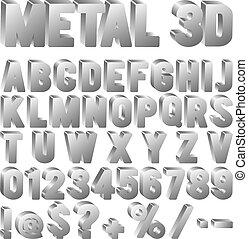 fuente, metal
