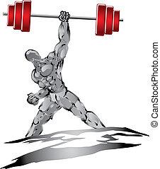 Fuerte músculo