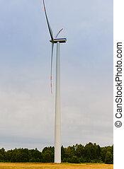 fuerza motriz verde, energía, wind., ecología, earth's, ingredients., molino de viento, natural, ahorra, renovable, electricidad, puro, windturbine., eco, producción