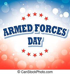 fuerzas armadas, bandera, día