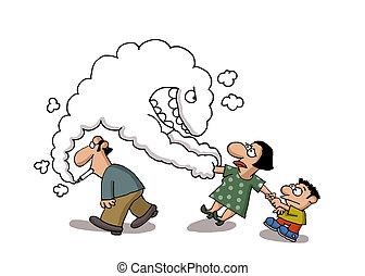 Fumando pasivo