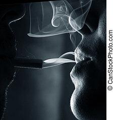 fumar, gente