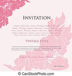 Fundamento floral rosa para diseño