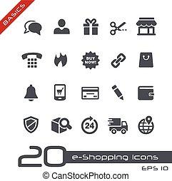 //, fundamentos, e-shopping, iconos