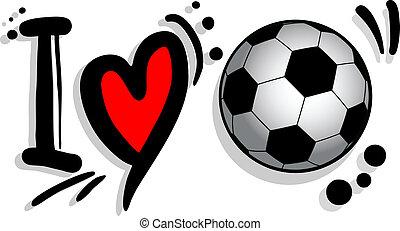 futbol, amor