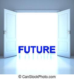 futura palabra conceptual en el futuro