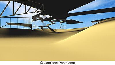 futurista, arquitectura