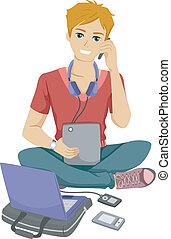 Gadget adolescente