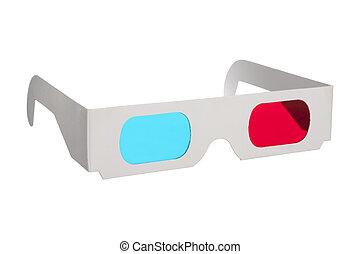 Gafas de papel 3D