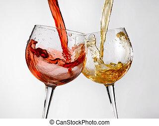 Gafas de vino