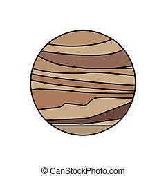 Galaxia del sistema solar de Venus
