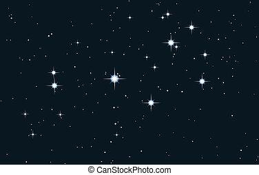 Galaxia Vector estrella - pleia