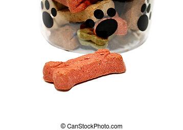 galletas, perro, gustos
