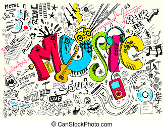 garabato, música