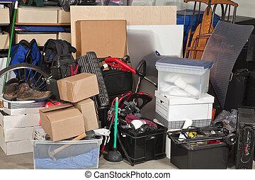 garaje, almacenamiento