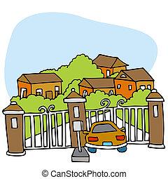 gated, comunidad