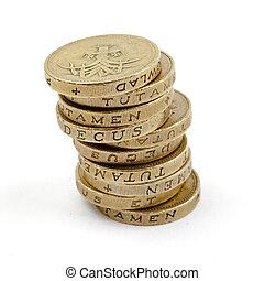 (gb, coins, pila, pound), ?1