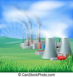 Generación de energía de energía eléctrica