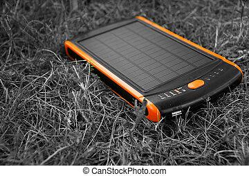 Generador de energía eléctrica solar energía pura, banco de energía eléctrica.