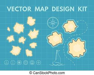 Generador de mapas Vector
