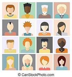 Gente íconos