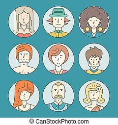 Gente colorida