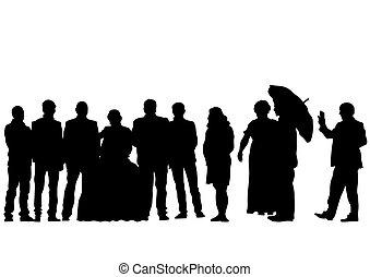 Gente de la boda