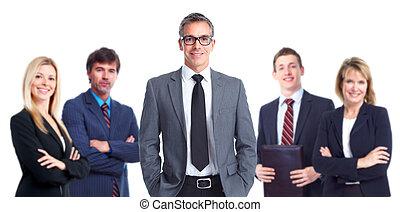 Gente de negocios.