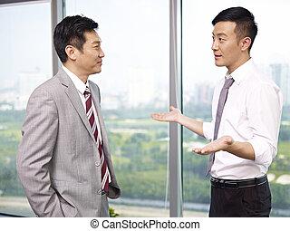 Gente de negocios asiática
