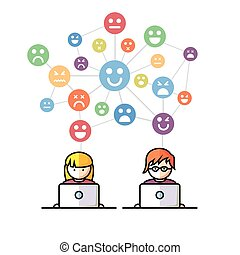 Gente de redes sociales