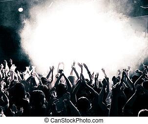 Gente del concierto