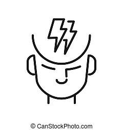 Gente en diseño de ilustraciones conflictivas