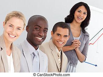 Gente joven de negocios