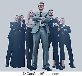 Gente joven y atractiva de negocios, el equipo de negocios de élite