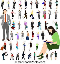 Gente - negocios - gran set 01