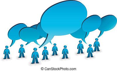 Gente que habla