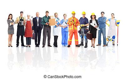Gente trabajadora