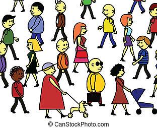 Gentes multitudes
