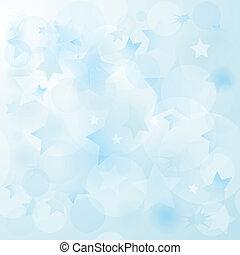 Gentil fondo de Navidad azul