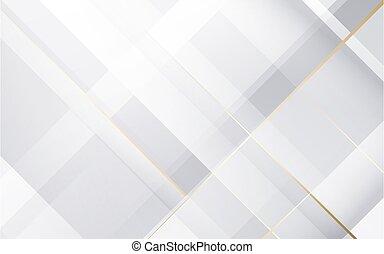 geométrico, fondo., resumen, vector, gris, blanco, ilustración