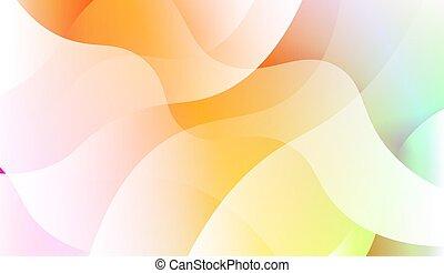 geométrico, illustration., backgrounds., onda, fondo., plantilla, vector, forma., célula, holograma, teléfono, resumen, gradiente