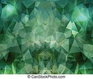 geométrico, polígonos, plano de fondo