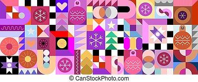 geométrico, seamless, patrón