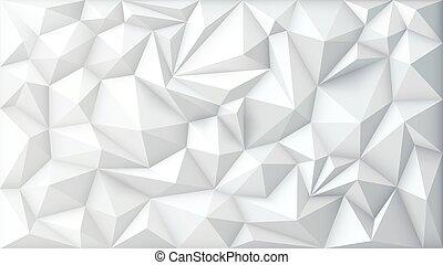 geométrico, vector, polygonal, triángulo, plano de fondo, polígono, resumen