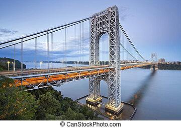 George Washington Bridge, Nueva York.