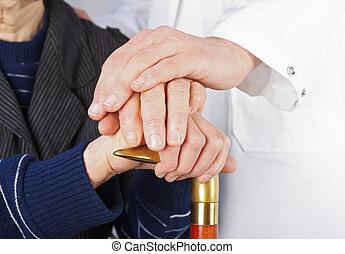 Geriatría y cuidados ancianos