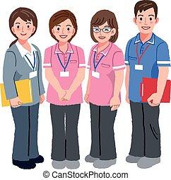Geriatría y trabajadores sociales