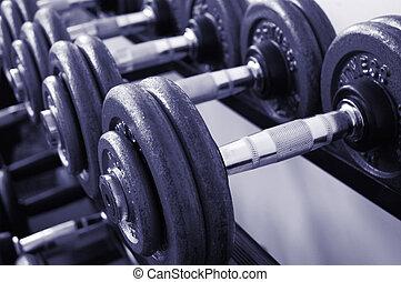 gimnasio, pesas