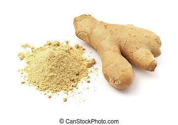 Ginger aislado