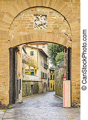 giorgio, italia, san, porta, florencia